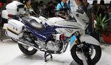 CPSE安博会-最拉风的警用摩托车